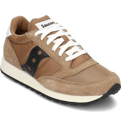 Chaussures Homme | Saucony JAZZ ORIGINAL BASKETS BASSES MARRON