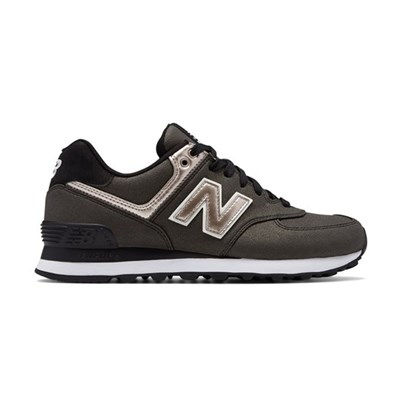 New Balance WL574SFH BASKETS BASSES MARRON Chaussure France_v7782