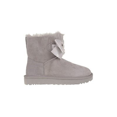 Ugg GITA BOW MINI BASKETS BASSES GRIS Chaussure France_v18211