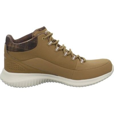 Skechers ULTRA FLEX JUST CHILL BASKETS BASSES MARRON