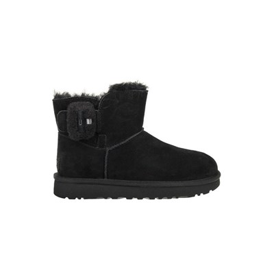Ugg MINI BAILEY FLUFF BOTTINES NOIR Chaussure France_v18254