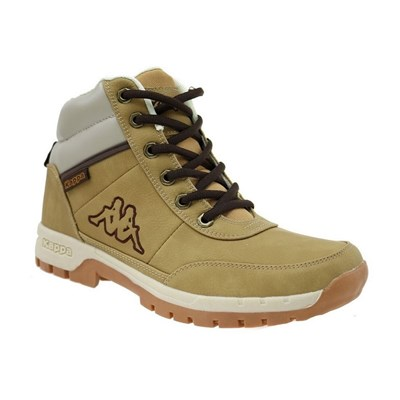 Kappa BRIGHT MID LIGHT BASKETS MONTANTES JAUNE