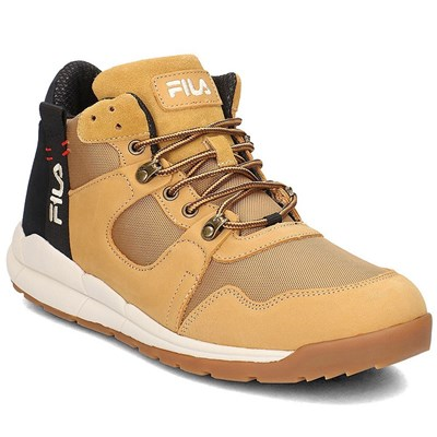 Fila 1010498EDU BASKETS MONTANTES MARRON Chaussure France_v14359