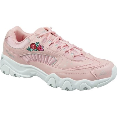 Kappa FELICITY ROMANCE BASKETS BASSES ROSE Chaussure France_v10575