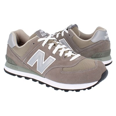 New Balance M574GS BASKETS BASSES GRIS Chaussure France_v15774