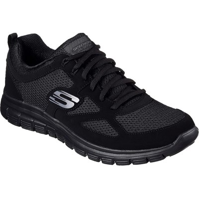 Skechers BURNS BASKETS BASSES NOIR Chaussure France_v11612