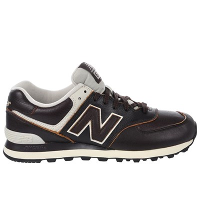 New Balance ML574LUA BASKETS BASSES MARRON