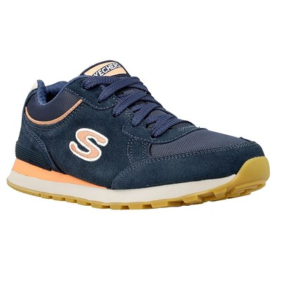 Skechers OG 82 CLASSIC KICKS BASKETS BASSES BLEU MARINE Chaussure France_v9827