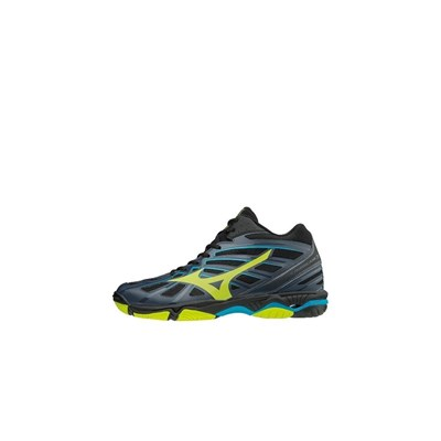 Mizuno WAVE HURRICANE 3 MID BASKETS MONTANTES ANTHRACITE