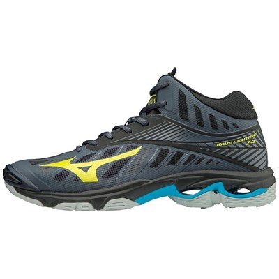 Chaussures Homme | Mizuno WAVE LIGHTNING Z4 MID BASKETS MONTANTES ANTHRACITE
