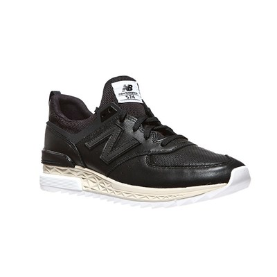 New Balance MS574LSB BASKETS BASSES NOIR Chaussure France_v16053