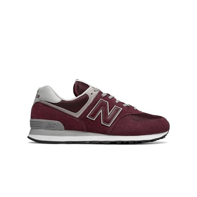 New Balance ML574EGB BASKETS BASSES BORDEAUX Chaussure France_v12717