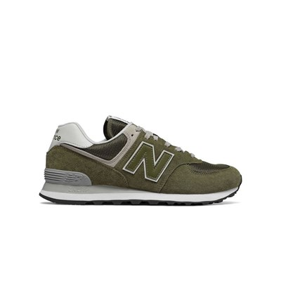 New Balance ML574EGO BASKETS BASSES OLIVE Chaussure France_v14983