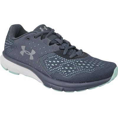 Under Armour W CHARGED REBEL BASKETS BASSES GRIS Chaussure France_v14261
