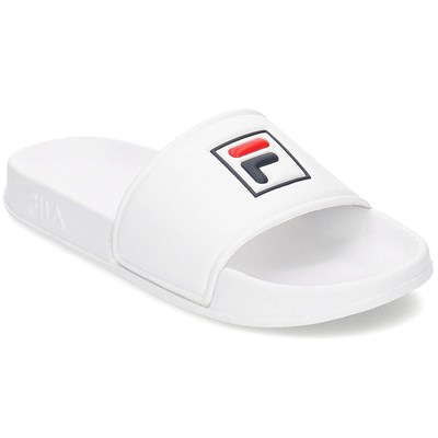 Fila PATCH PALM BEACH SLIPPER SANDALES BLANC Chaussure France_v5224