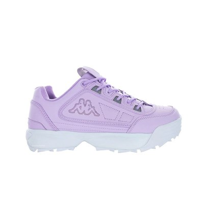 Kappa RAVE BASKETS BASSES VIOLET Chaussure France_v9506