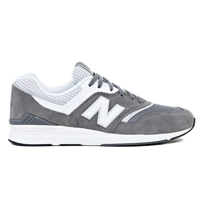 New Balance 697 BASKETS BASSES GRIS Chaussure France_v15889