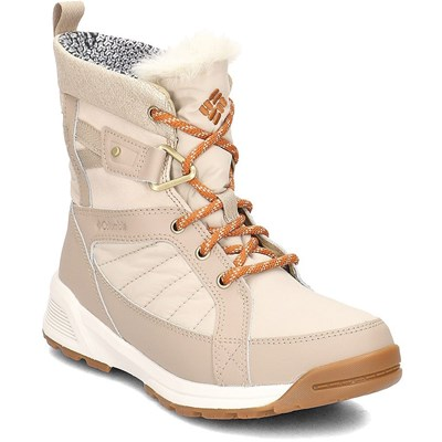 Columbia MEADOWS SHORTY OMNI HEAT 3D BOTTES DE NEIGE BEIGE Chaussure France_v14230