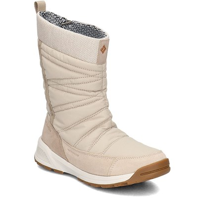 Columbia MEADOWS SLIP ON OMNI HEAT 3D BOTTES DE NEIGE BEIGE Chaussure France_v14232