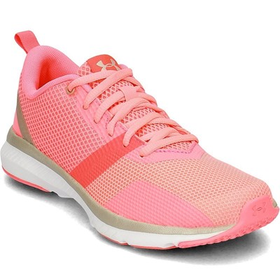 Chaussures Femme | Under Armour PRESS 2 BASKETS BASSES ROSE