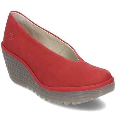 Fly London BASKETS BASSES ROUGE
