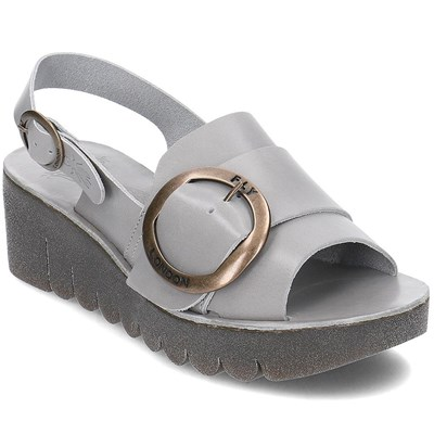 Fly London SANDALES GRIS Chaussure France_v14430