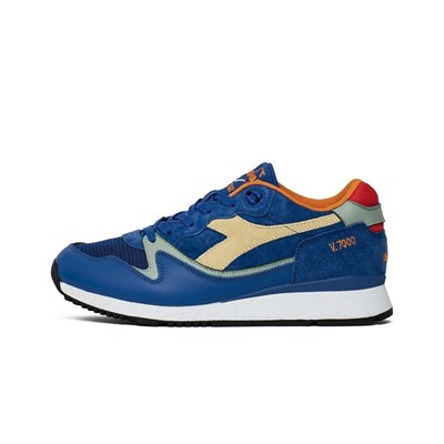 Diadora BASKETS BASSES BLEU Chaussure France_v15054