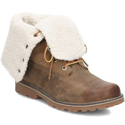 Timberland SHEARLING 6 INCH BOOTS MARRON Chaussure France_v12840