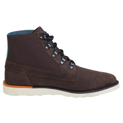 Vans BRETON BOOT BROWN CHAUSSURES DE SPORT MULTICOLORE Chaussure France_v8643