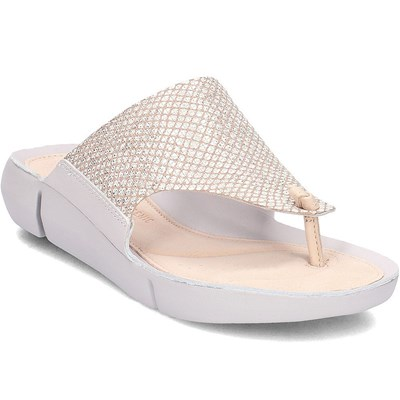 Clarks MULES BLANC Chaussure France_v12055