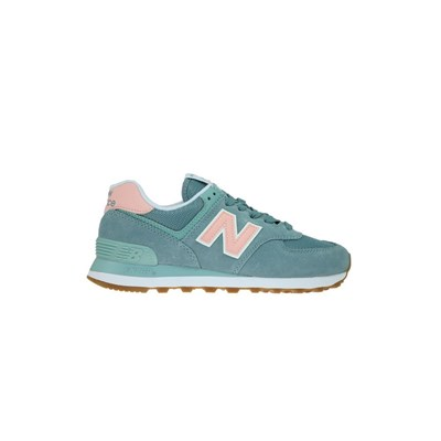 New Balance WL574FLB BASKETS BASSES TURQUOISE Chaussure France_v14438