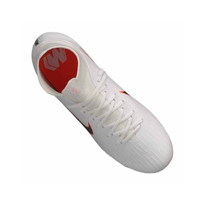 Nike SUPERFLY 6 PRO FG CHAUSSURES DE FOOT BLANC