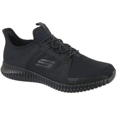 Skechers ELITE FLEX BASKETS BASSES NOIR