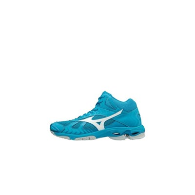 Mizuno WAVE BOLT 7 MID BASKETS MONTANTES TURQUOISE Chaussure France_v15886