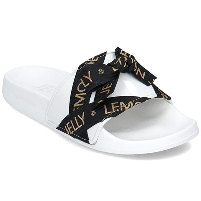 Lemon Jelly MULES BLANC Chaussure France_v9312