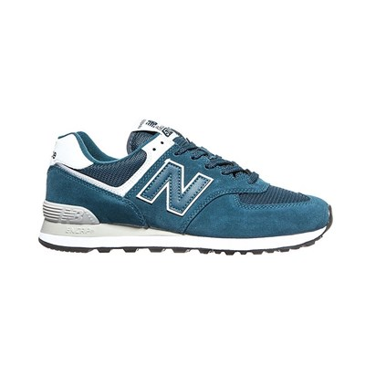 New Balance ML574ESM BASKETS BASSES BLEU Chaussure France_v14115