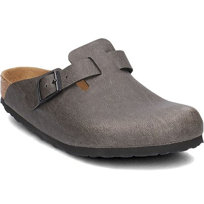 Birkenstock BOSTON BF SABOTS GRIS Chaussure France_v13848