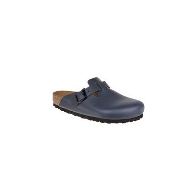 Birkenstock BOSTON SABOTS BLEU MARINE Chaussure France_v15069