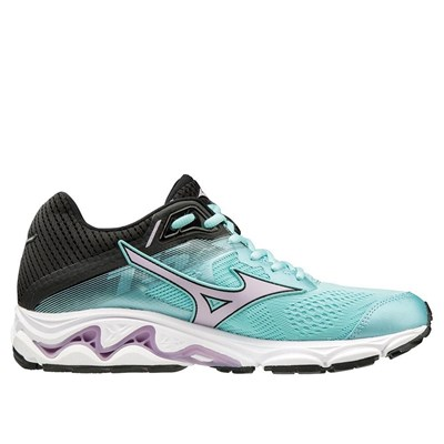 Mizuno WAVE INSPIRE 15 CHAUSSURES DE RUNNING TURQUOISE Chaussure France_v17369