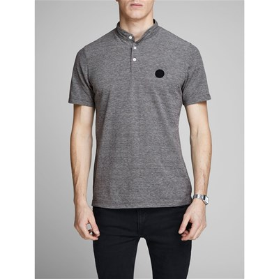 Jack & Jones JPRROB POLO MANICHE CORTE NERO