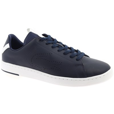 Lacoste CARNABY BASKETS BASSES BLEU MARINE Chaussure France_v9920