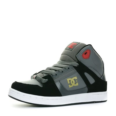 Dc Shoes HEATHROW BASKETS MONTANTES GRIS Chaussure France_v3682