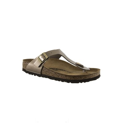Birkenstock BK1012983 GIZEH BIRKO-FLOR TONGS MARRON Chaussure France_v10672