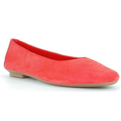 Reqins BALLERINES ROUGE Chaussure France_v6954