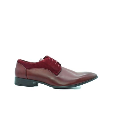 Kebello DERBIES ROUGE Chaussure France_v6337