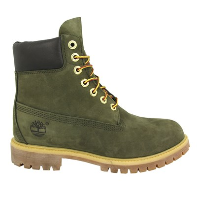 Timberland 6 IN PREMIUM BOOTS BOTTINES VERT Chaussure France_v15588