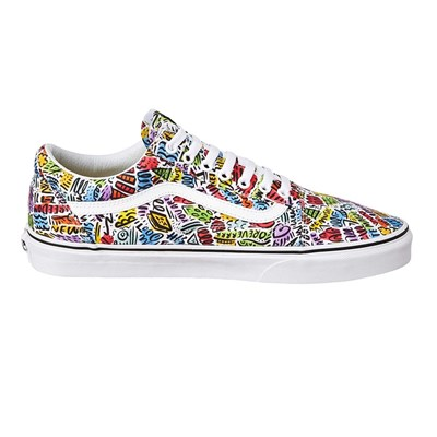 Vans DALLAS CLAYTON OLD SKOOL BASKETS BASSES MULTICOLORE