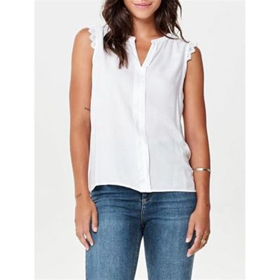Only KIMMI TOP BIANCO