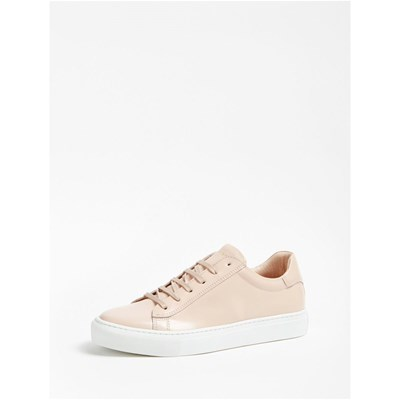Marciano Los Angeles SNEAKERS EN CUIR ROSE