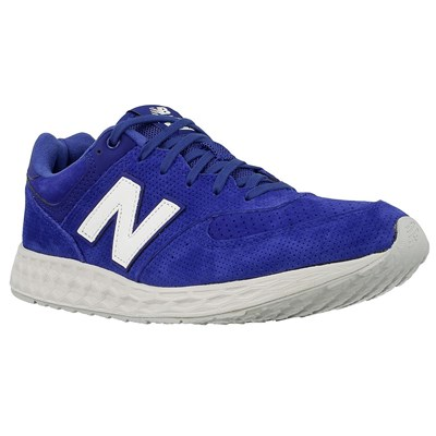 New Balance D 12 BASKETS BASSES BLEU Chaussure France_v14869